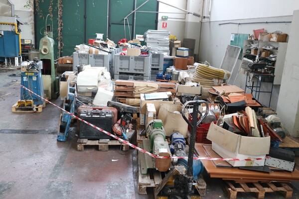 6#5843 Magazzino ricambi e macchinari per impianti di frantoio in vendita - foto 1