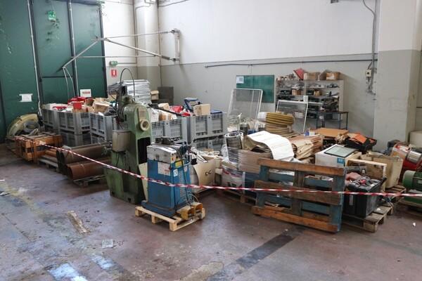 6#5843 Magazzino ricambi e macchinari per impianti di frantoio in vendita - foto 3