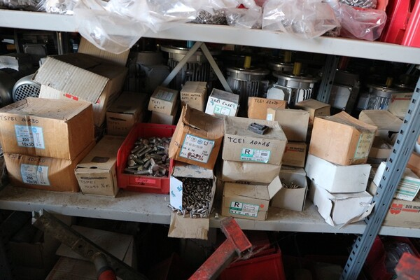 6#5843 Magazzino ricambi e macchinari per impianti di frantoio in vendita - foto 163