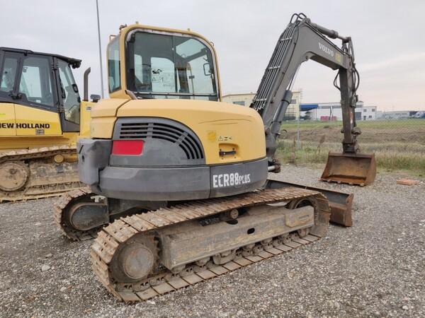 5#5845 Escavatore Volvo ECR88 in vendita - foto 3