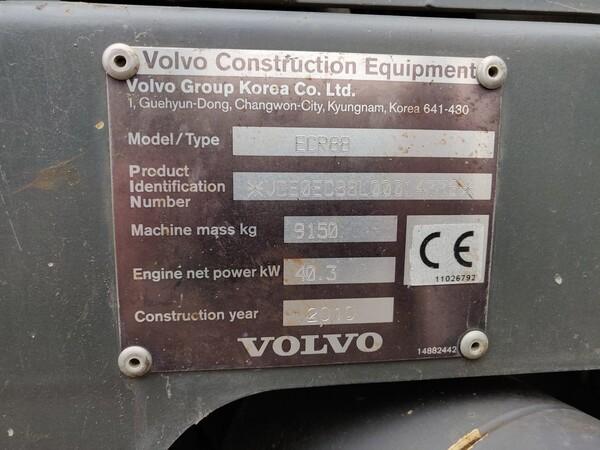 5#5845 Escavatore Volvo ECR88 in vendita - foto 10