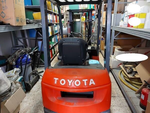 2#5851 Muletto diesel a forche Toyota in vendita - foto 1