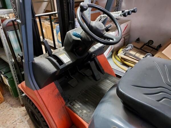 2#5851 Muletto diesel a forche Toyota in vendita - foto 7