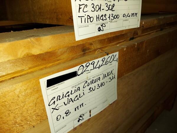 16#5853 Ricambi per impianti trattamento carbone in vendita - foto 5