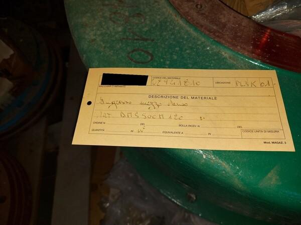 16#5853 Ricambi per impianti trattamento carbone in vendita - foto 7