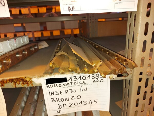 8#5853 Ricambi bullonatrice ARO in vendita - foto 7