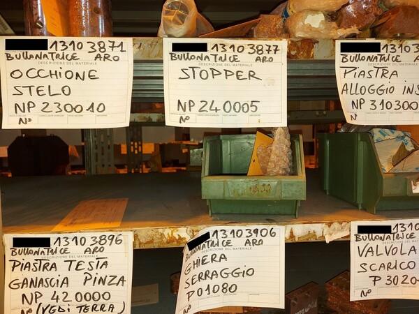 8#5853 Ricambi bullonatrice ARO in vendita - foto 21