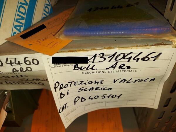 8#5853 Ricambi bullonatrice ARO in vendita - foto 25