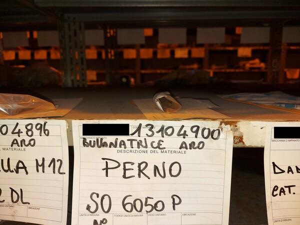8#5853 Ricambi bullonatrice ARO in vendita - foto 26