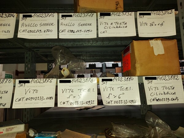 9#5853 Ricambi per tagliatrici Joy in vendita - foto 12