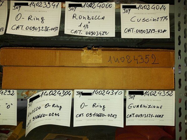 9#5853 Ricambi per tagliatrici Joy in vendita - foto 19