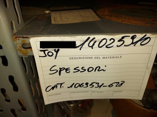9#5853 Ricambi per tagliatrici Joy in vendita - foto 33