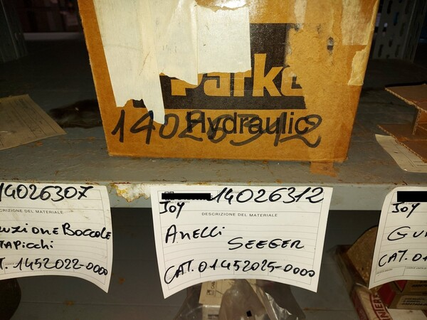 9#5853 Ricambi per tagliatrici Joy in vendita - foto 41