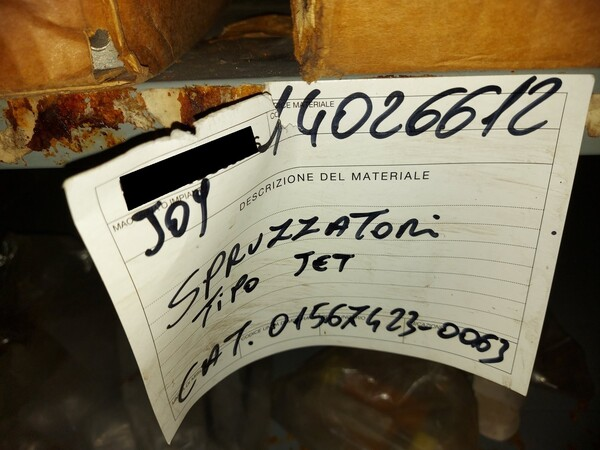 9#5853 Ricambi per tagliatrici Joy in vendita - foto 47