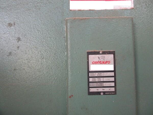 3#5855 Sega a nastro Centauro e calibratrice Scm in vendita - foto 2