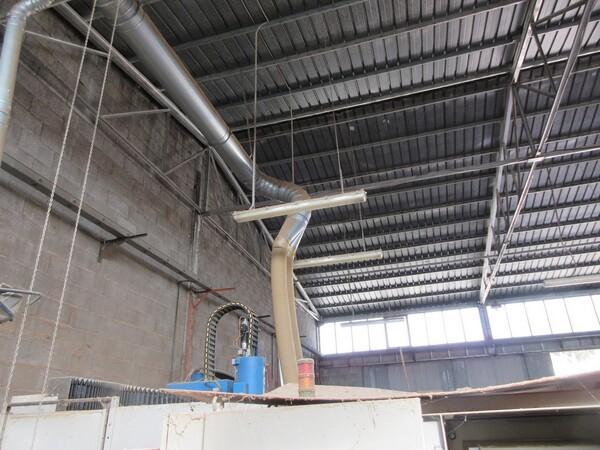 5#5855 Impianto aerazione e cabina verniciatura in vendita - foto 3
