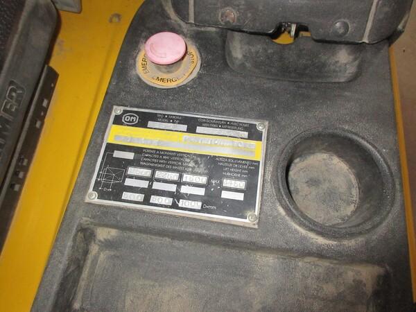 6#5855 Carrello elevatore elettrico OM in vendita - foto 5