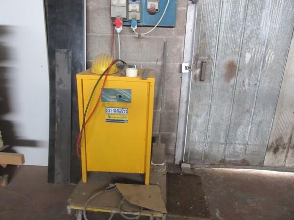 6#5855 Carrello elevatore elettrico OM in vendita - foto 9