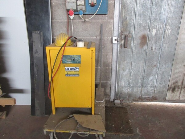 6#5855 Carrello elevatore elettrico OM in vendita - foto 10