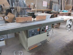Spindle moulder Scm and Rga Italcava sander - Lot 9 (Auction 5855)