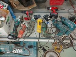 Makita drill and De Walt screwdriver - Lote 7 (Subasta 5859)