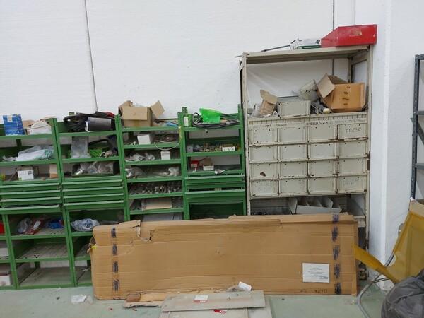 8#5859 Scaffalatura metallica e transpallet in vendita - foto 10