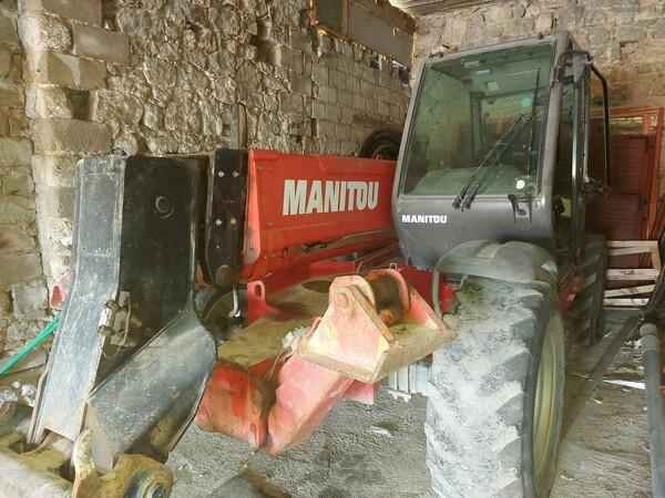 9#5859 Carrello elevatore Manitou in vendita - foto 6