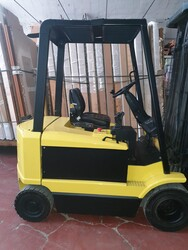 Hyster forklift and Honda HM125 motorcycle - Lot 0 (Auction 5869)