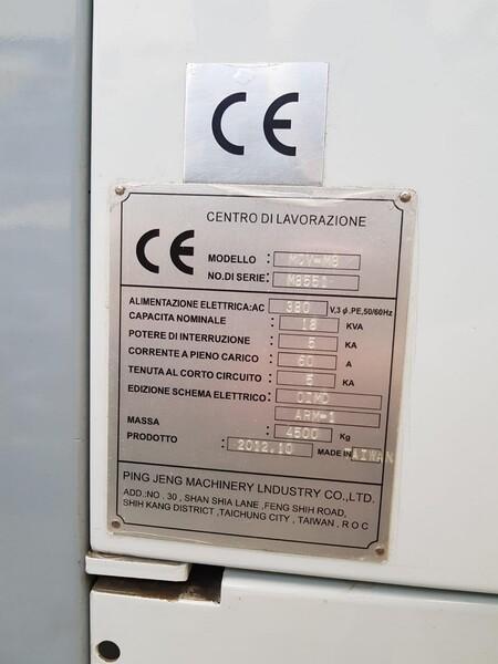 1#5870 Centro di lavoro verticale Perfect Jet MCV-M8 in vendita - foto 4