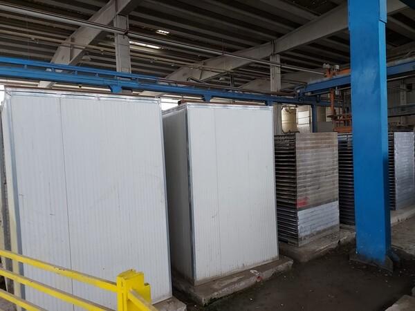 12#5875 Vassoi in metallo per linee di produzione mattonelle in vendita - foto 13
