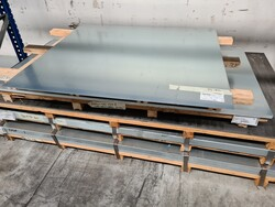 Galvanized and polished sheets - Lot 10 (Auction 5878)