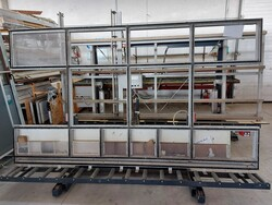 PVC glazing press and Shuring frame trolleys - Lot 20 (Auction 5881)