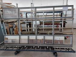 PVC glazing press and Shuring frame trolleys - Lote 20 (Subasta 5881)