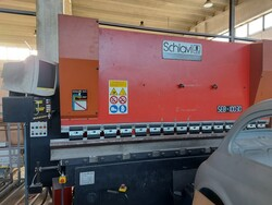 Schiavi press brake - Lot 7 (Auction 5881)