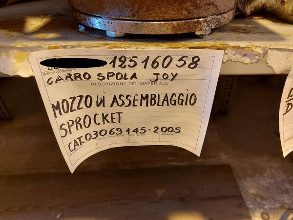 17#5883 Ricambi per carro spola Joy 10SC32 in vendita - foto 16