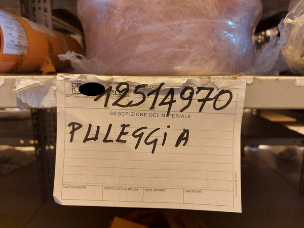 17#5883 Ricambi per carro spola Joy 10SC32 in vendita - foto 19