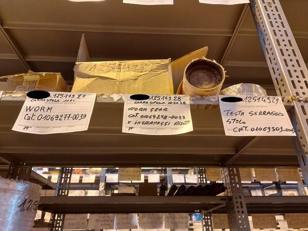 17#5883 Ricambi per carro spola Joy 10SC32 in vendita - foto 21