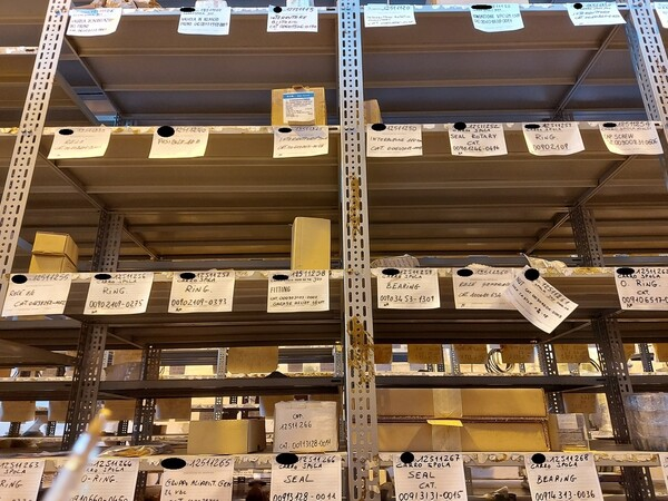 17#5883 Ricambi per carro spola Joy 10SC32 in vendita - foto 30