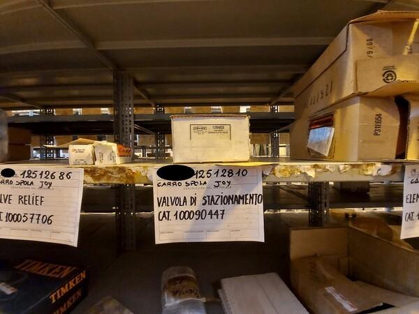 17#5883 Ricambi per carro spola Joy 10SC32 in vendita - foto 35