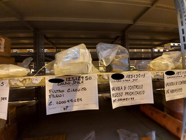 17#5883 Ricambi per carro spola Joy 10SC32 in vendita - foto 36