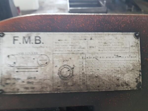 2#5901 Macchina troncatrice FMB in vendita - foto 3