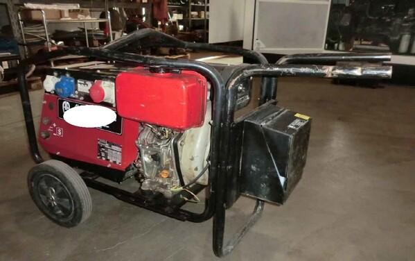 2#5906 Motosaldatrice Mosa in vendita - foto 4