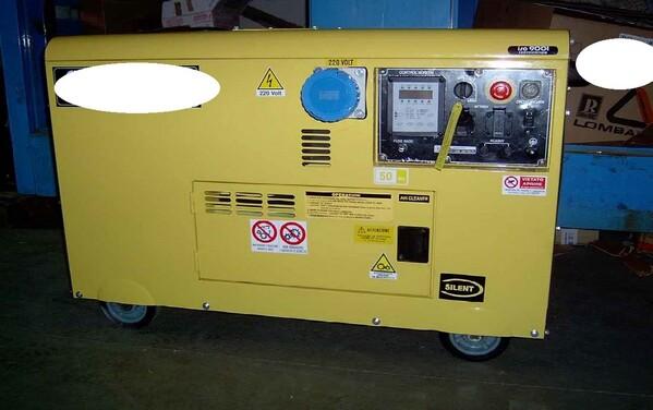 8#5906 Gruppo elettrogeno in vendita - foto 1