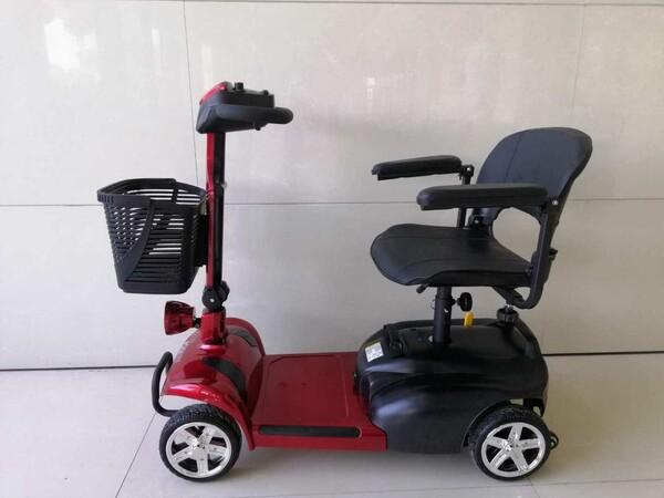 2#5920 Casarevi Mobility Scooter elettrico rosso in vendita - foto 11