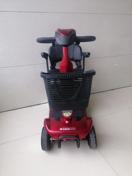 2#5920 Casarevi Mobility Scooter elettrico rosso in vendita - foto 12