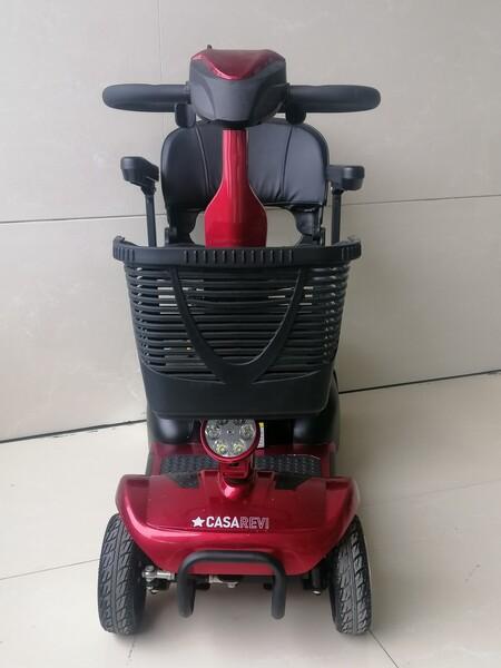 6#5920 Casarevi Mobility Scooter elettrico rosso in vendita - foto 1