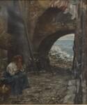 Immagine 2 - Dipinto L'Attesa - Lotto 1 (Asta 5936)