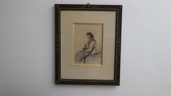 111#5936 Popolana Dipinto in vendita - foto 1