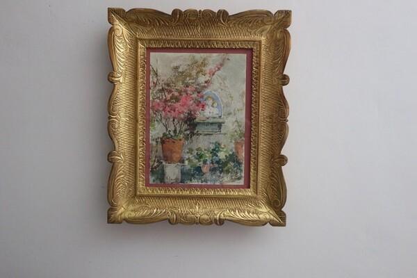 12#5936 Dipinto Terrazza in vendita - foto 1