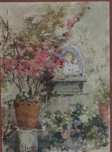 12#5936 Dipinto Terrazza in vendita - foto 2